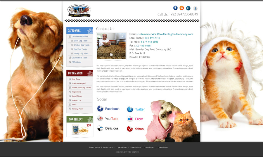 A great web design by Magical Web Weave, Washington DC, DC: