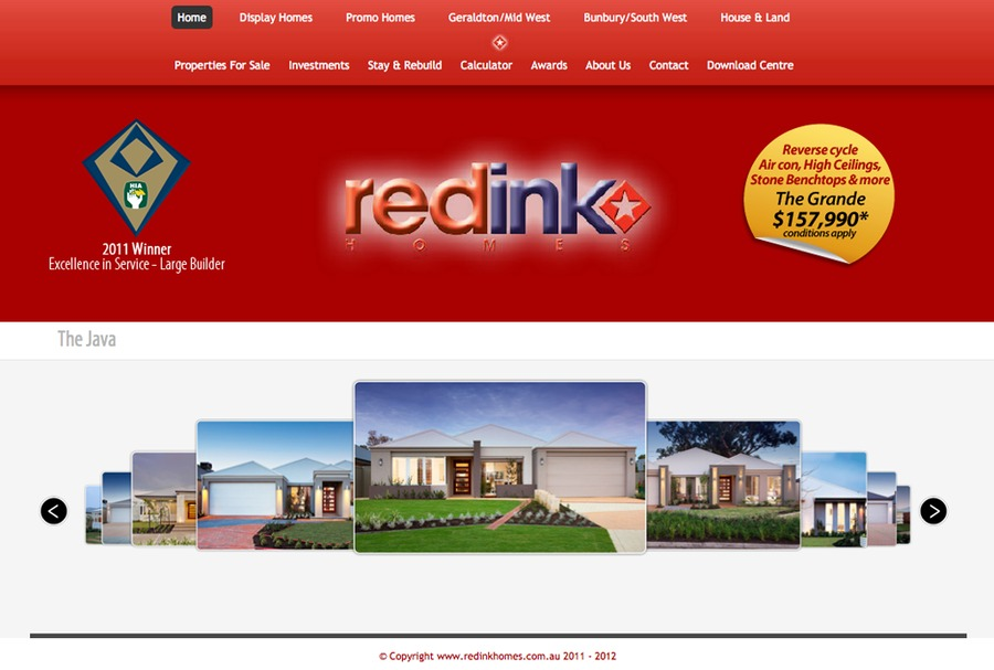 A great web design by Wicked Web Design, Perth, Australia: