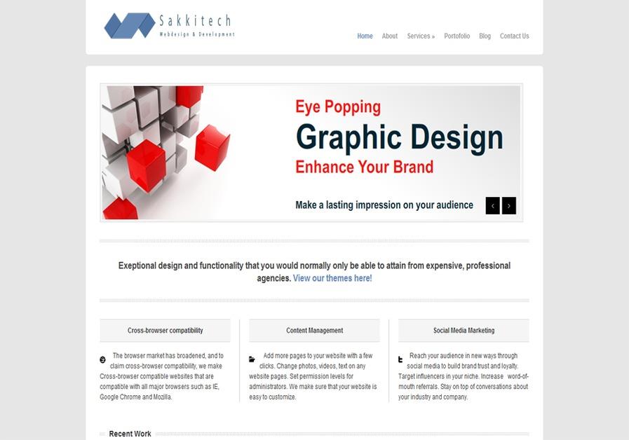 A great web design by Sakkitech, Helsinki, Finland: