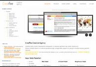 A great web design by Creaffee Creative Agency, Istanbul, Turkey: