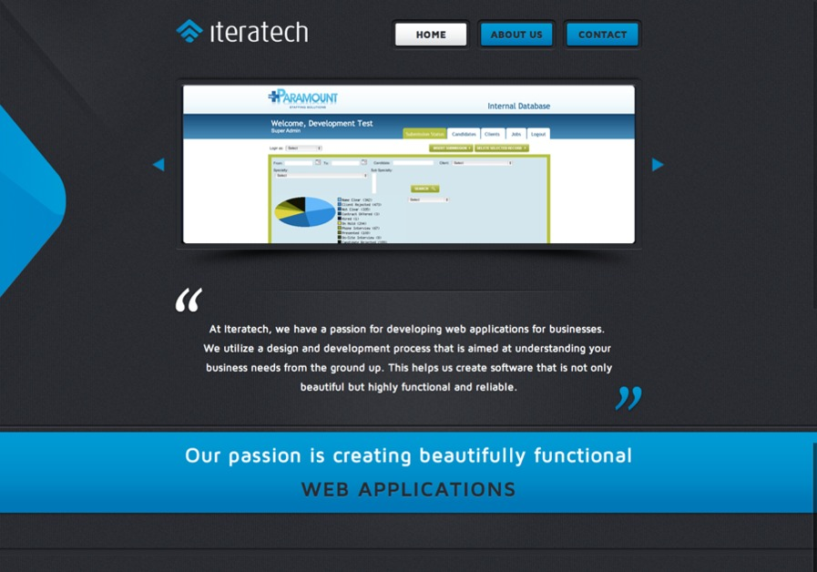 A great web design by Iteratech, Miami, FL: