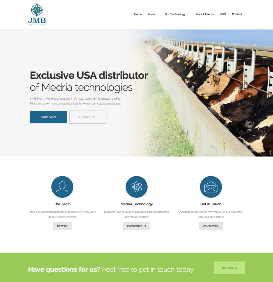 A great web design by Courtright Design, Albuquerque, NM: Responsive Website, Agriculture , Wordpress