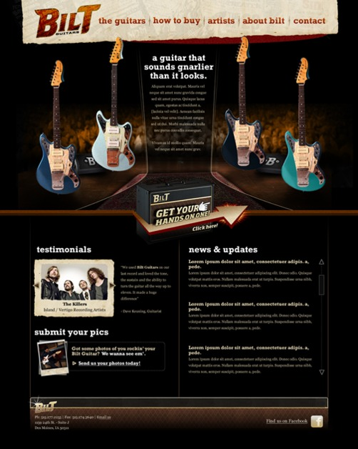 A great web design by Slash/Web Studios, Des Moines, IA: