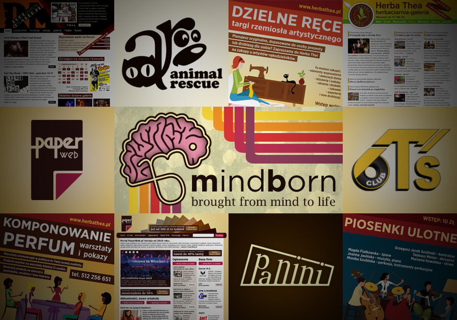 A great web design by MindBorn, Warsaw, Poland: