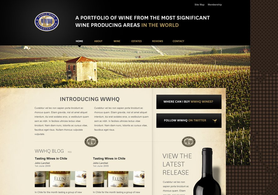 A great web design by Sharkey Media, Sydney, Australia: