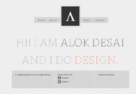 A great web design by alokdesai.in, Mumbai, India:
