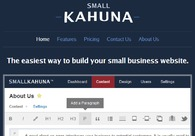 A great web design by Small Kahuna, St Louis, MO: