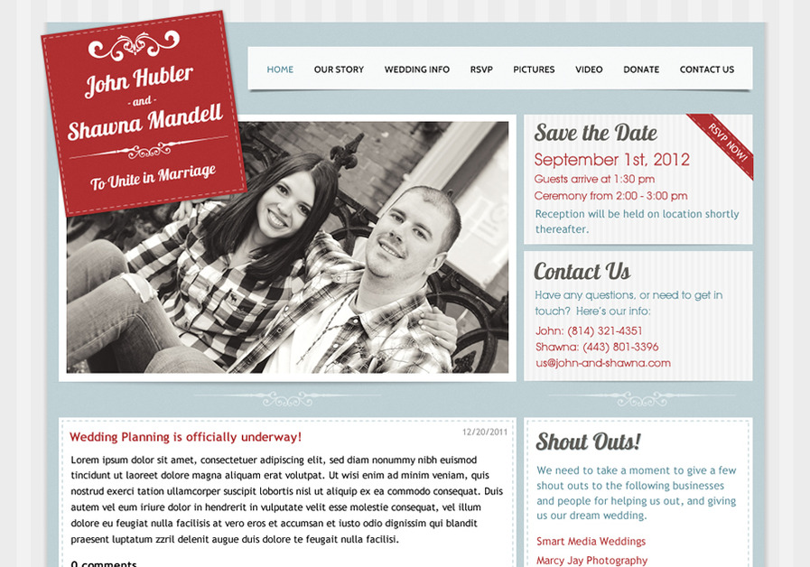 A great web design by John Hubler: Web Craftsman, State College, PA: