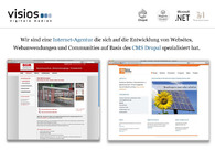 A great web design by visios digitale medien, Paderborn, Germany:
