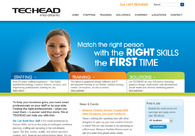 A great web design by TECHEAD Mid-Atlantic, Richmond, VA: