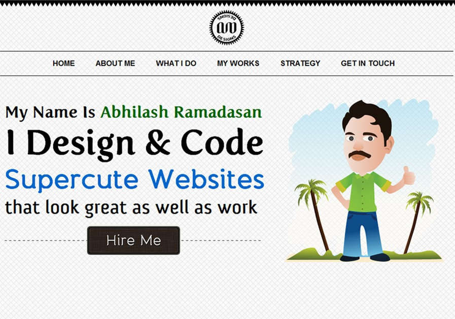 A great web design by Abhilash Ramadasan, Trivandrum, India: