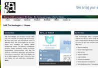 A great web design by GAK Technologies, Karachi, Pakistan: