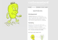 A great web design by Cuthemustard.com, Montreal, Canada: