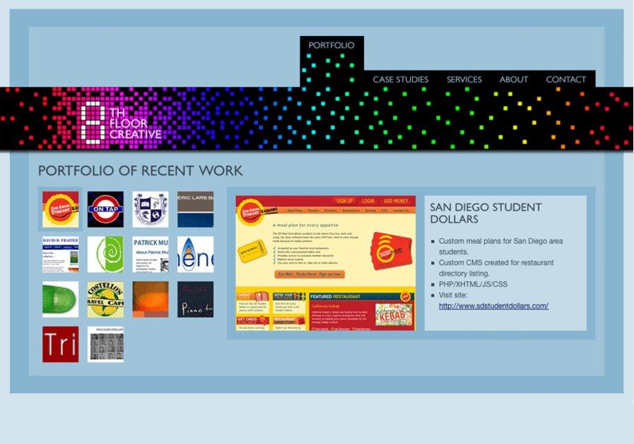 A great web design by Eighth Floor Creative, Taipei, Taiwan:
