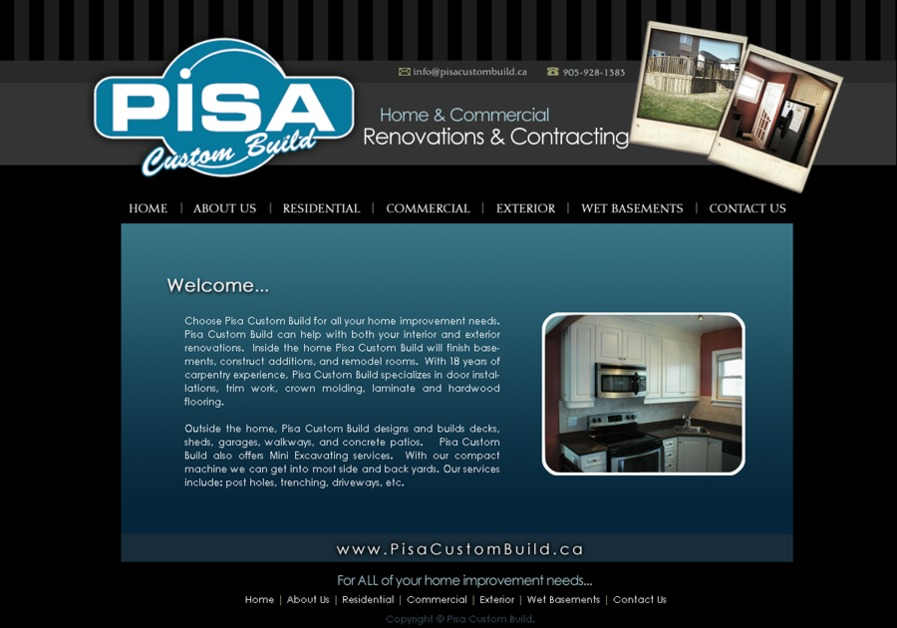 A great web design by Space Light Studios Web Design, Toronto, Canada: