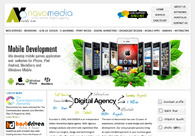 A great web design by NAVOMEDIA, Kochi, India: