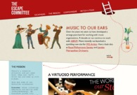 A great web design by The Escape Committee, Brighton, United Kingdom: