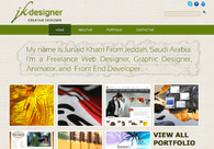 A great web design by jkdezigner, Jeddah, Saudi Arabia: