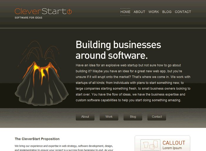 A great web design by Clever Start, LLC, Raleigh, NC: