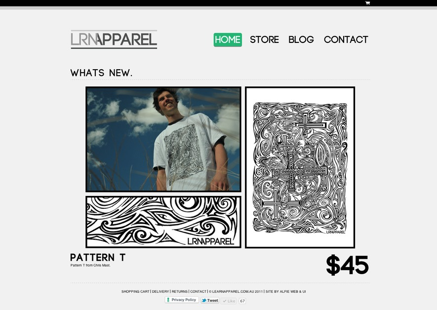 A great web design by Luke Alford, Warrnambool VIC, Australia:
