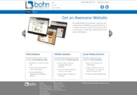 A great web design by Bohn Technology Solutions, Lubbock, TX: