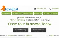 A great web design by Low Cost Solution, San Francisco, CA:
