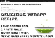 A great web design by 2 Parts Magic, Cambridge, New Zealand: