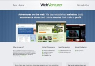 A great web design by Webventurer, Boston, MA: