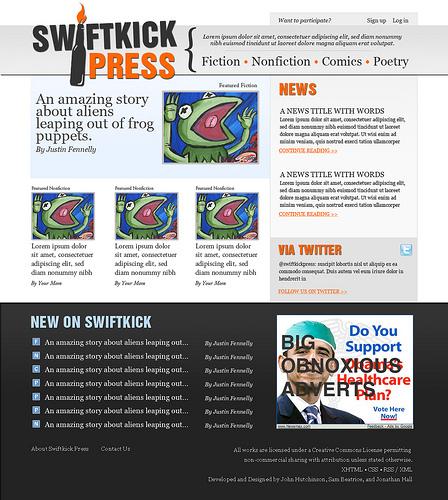 A great web design by John Hutchinson, Philadelphia, PA: