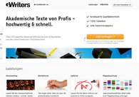 A great web design by GWriters.de, Duesseldorf, Germany: