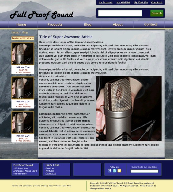 A great web design by KaterCreations.com, Atlanta, GA: