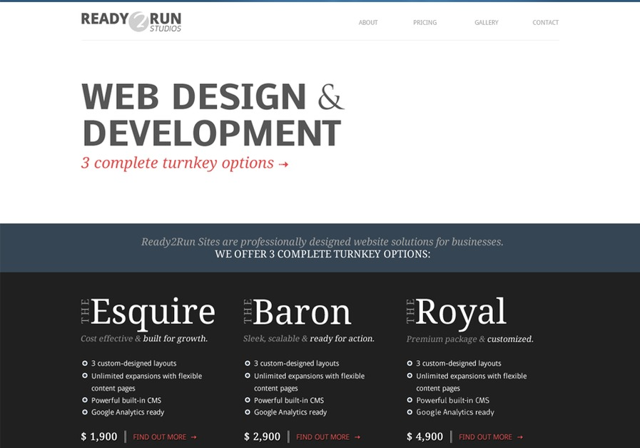 A great web design by Ready2Run, London, United Kingdom: