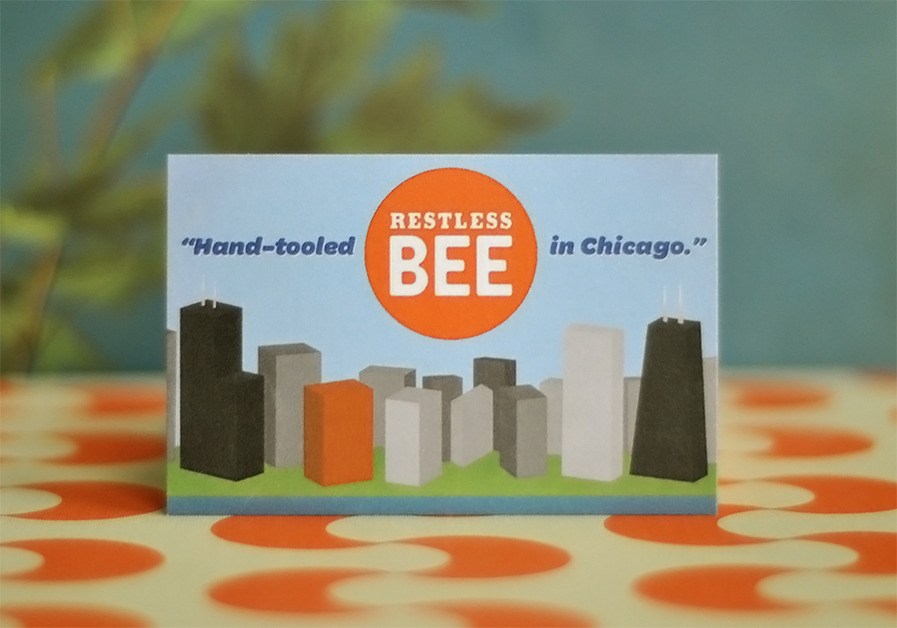 A great web design by Restless Bee, Chicago, IL: