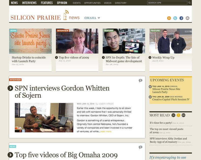 A great web design by BrightMix, Omaha, NE: