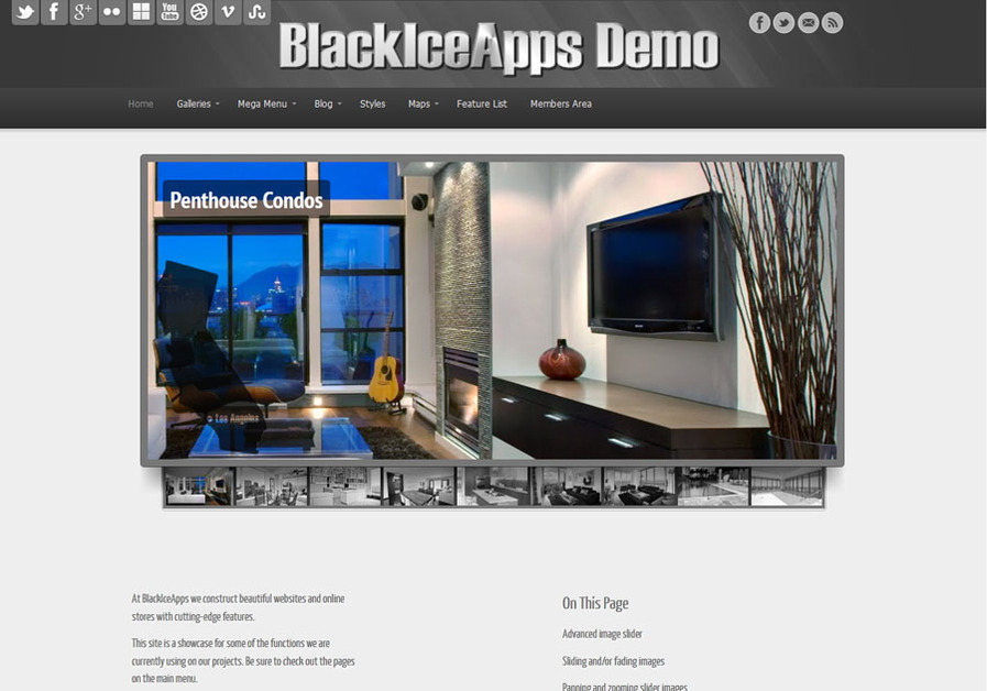 A great web design by BlackIceApps, London, United Kingdom: