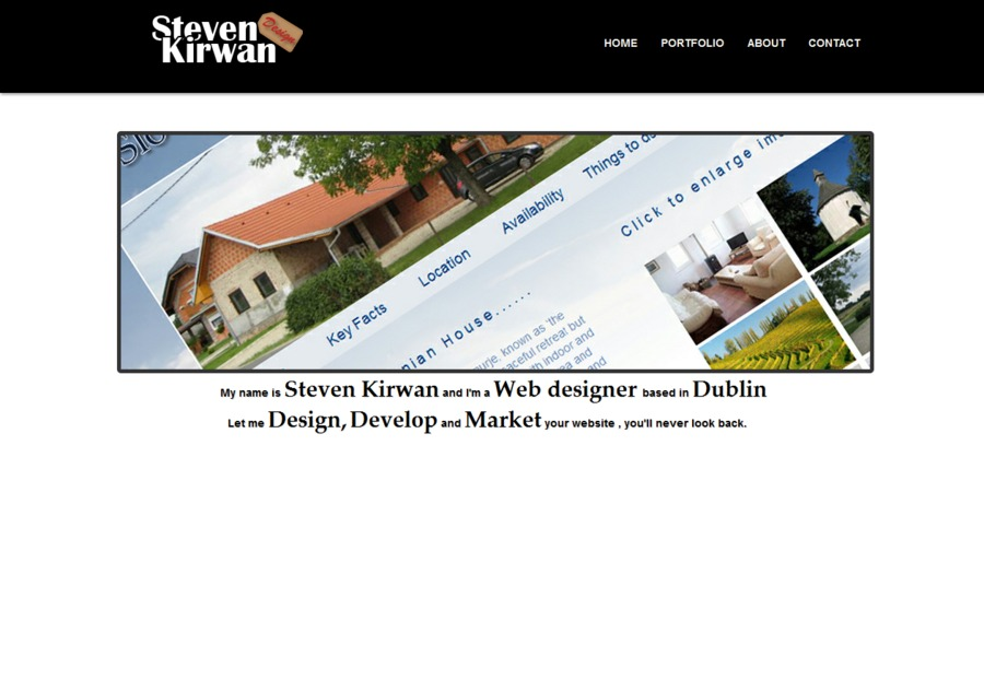 A great web design by Steven Kirwan, Dublin  Ireland, Ireland: