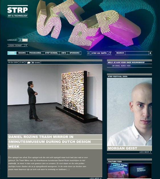A great web design by To Wonder Multimedia, Amsterdam, Netherlands: