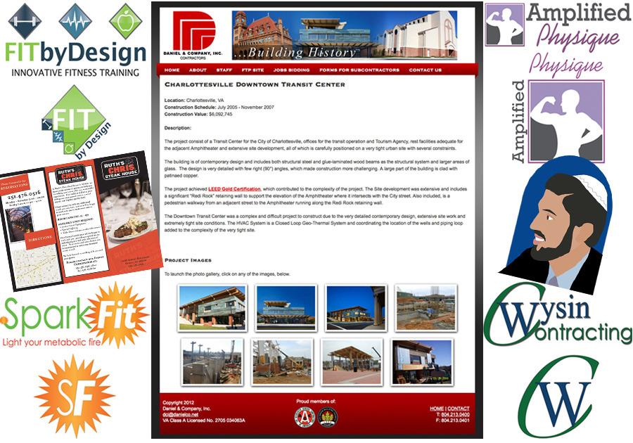 A great web design by J. Brooke Chao Designs, LLC, Harrisonburg, VA: