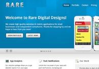 A great web design by Rare Digital Designs, San Francisco, CA: