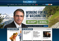 A great web design by VoterGo! -- Political Websites & Marketing, Bellevue, WA: