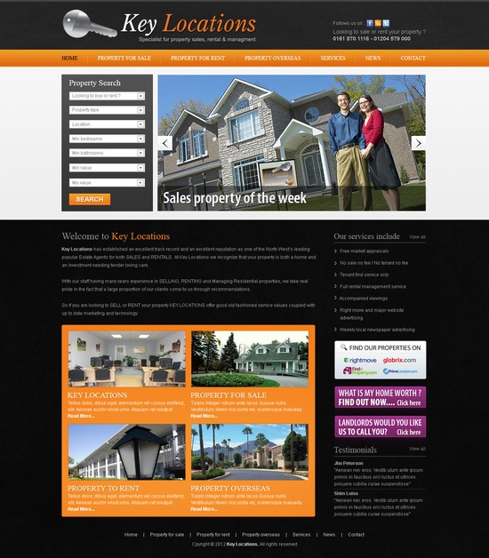A great web design by Square Pear Design, Bolton, United Kingdom: