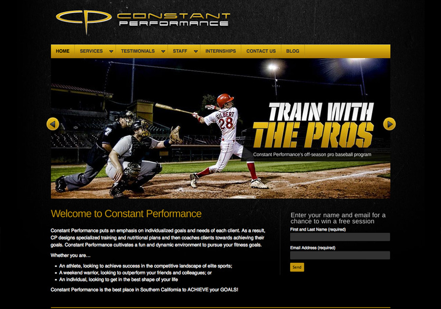 A great web design by 5M Sports, Chicago, IL: