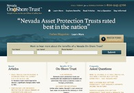A great web design by Bryan Blake, Las Vegas, NV: