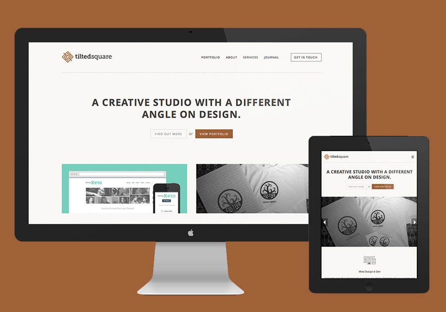 A great web design by Tilted Square, Denver, CO: Responsive Website, Portfolio , Internet , Wordpress