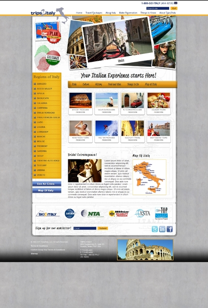 A great web design by eSparkInfo Solution, Ahmedabad, India: