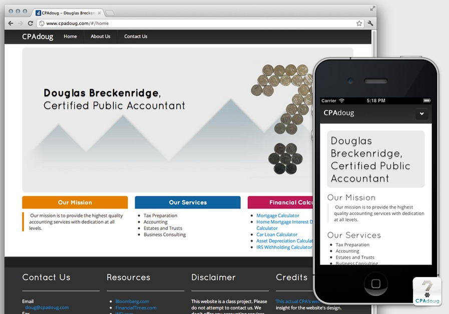 A great web design by Breckenedge Company, Fort Worth, TX: