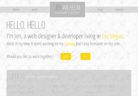 A great web design by Jen Wilhelm, Las Vegas, NV: