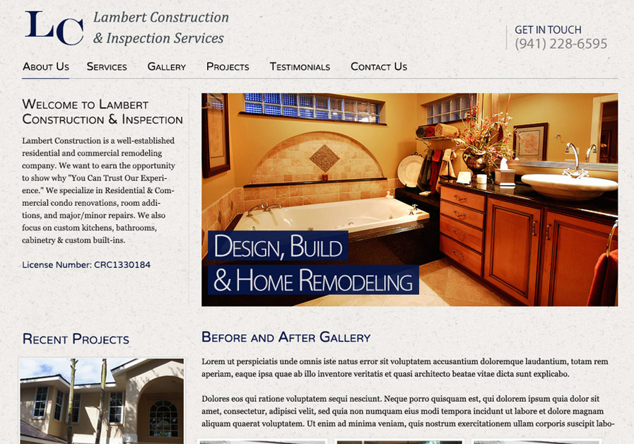 A great web design by DACrosby, LLC, Minneapolis, MN: