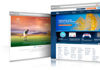 A great web design by web freelancer, New Delhi, India:
