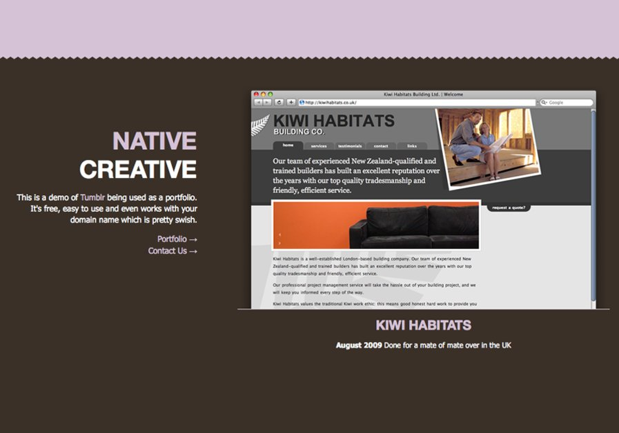 A great web design by Native Creative, Auckland, New Zealand: